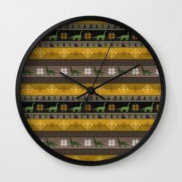 Loch Ness Fair Isle Wall Clock