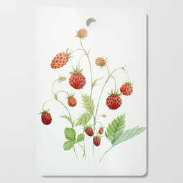 Wild Strawberries Cutting Board