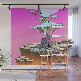 Acid Tree Wall Mural