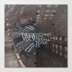 FNOOB Techno Vol. 9 album art Canvas Print