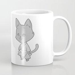 Martial Arts Kitty Coffee Mug