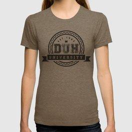 Duh University T-shirt