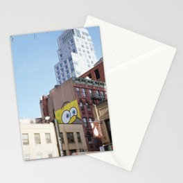 SpongeHomer x L.E.S. Stationery Cards