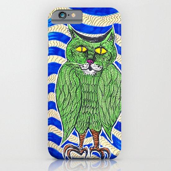 Catlearowl iPhone & iPod Case