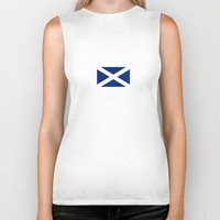 scotland Biker Tanks featuring Scotland by Earl of Grey