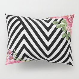 flowers geometric Pillow Sham