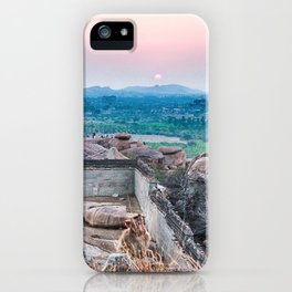 Sunset in the Lost World iPhone Case