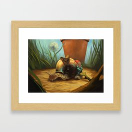 Noble Steed Framed Art Print