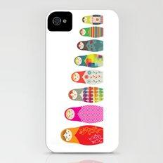 Russian Dolls Slim Case iPhone (4, 4s)