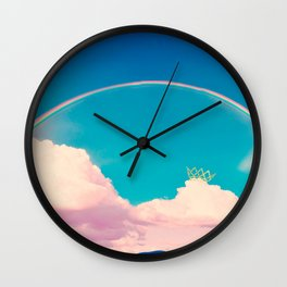 Till You Come To The End Wall Clock