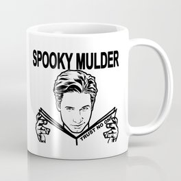 Spooky Mulder Trust no One Coffee Mug