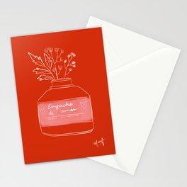 Empacho de amor - Love potion Stationery Cards