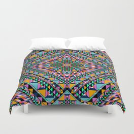 Triangle Takeover Duvet Cover