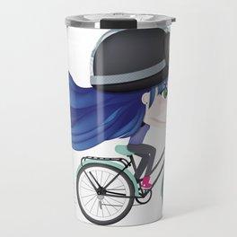 Mint Bike Travel Mug