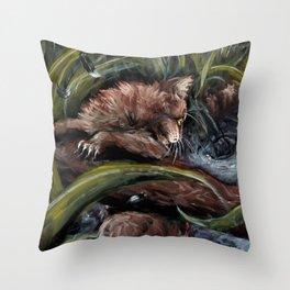 Stormpaw's Slip Throw Pillow