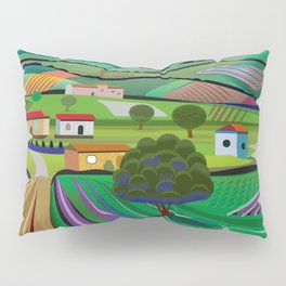 Morning in Avocado Hills Pillow Sham
