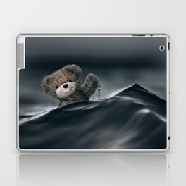 Riding The Waves Laptop & iPad Skin