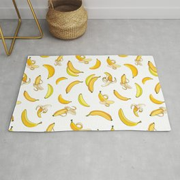 Banana & Leaves Pattern 2 Rug