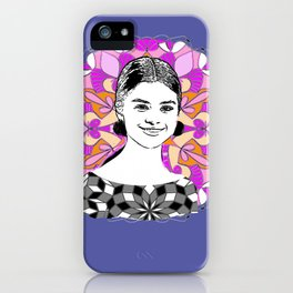 Selina in sky with diamonds iPhone Case