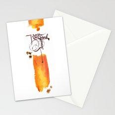 I gave my bird away Stationery Cards