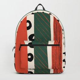 Retro Pattern Mid century modern, mid century wall art, mid century art, mid century print, geometri Backpack