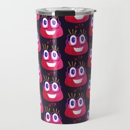 Cute Geek Mathematician Watercolor Candy Travel Mug