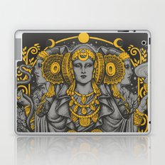 IBERIAN HECATE gray Laptop & iPad Skin