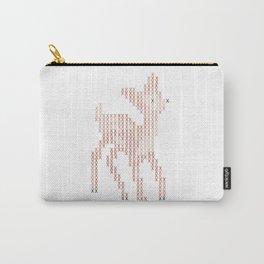 Little deer/fawn cross stitch Carry-All Pouch