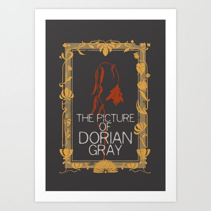 BOOKS COLLECTION: Dorian Gray Art Print