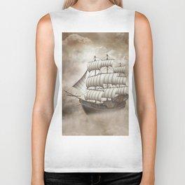 Cloud Ship Biker Tank