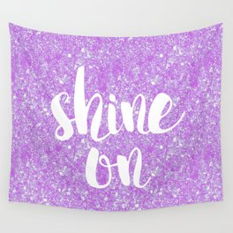 Shine On Sparkles Wall Tapestry