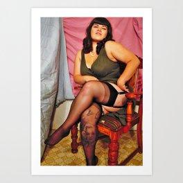 """Modern day Betty"" Art Print"