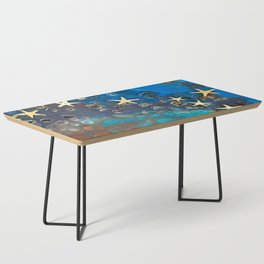 Blue Sea Starfish Coffee Table