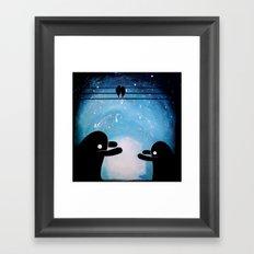 cuddle monsters Framed Art Print