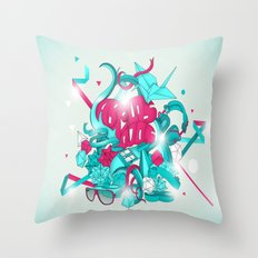 Graphicdesign Throw Pillow