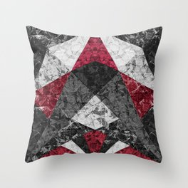 Marble Geometric Background G431 Throw Pillow