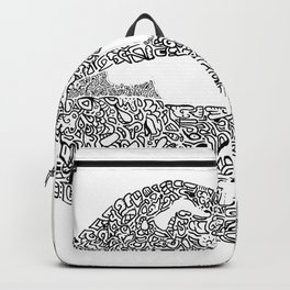 Bitten lip Backpack