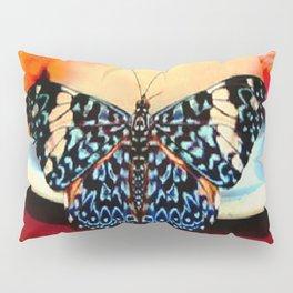 CRACKER BUTTERFLY FEASTING Pillow Sham