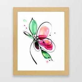 Ecstasy Bloom No. 2 by Kathy Morton Stanion Framed Art Print