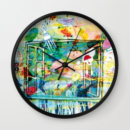 Kinoko Teikoku - Fake World Wonderland Wall Clock