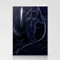 alien Stationery Cards featuring Alien by MatoSwamp
