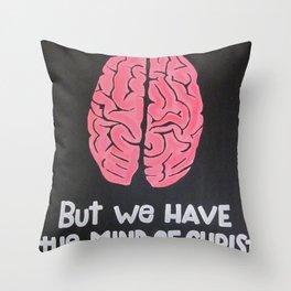 Mind of Christ Throw Pillow