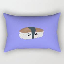 Sushi with rice and mushroom Rectangular Pillow