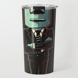 Poker Face 2 Travel Mug