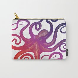 head footed in violet Carry-All Pouch