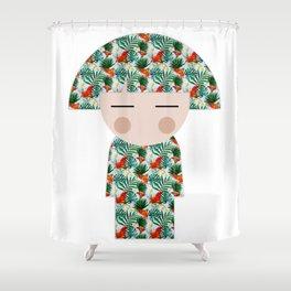 japan animation (hawaii) Shower Curtain
