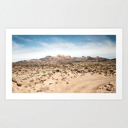 The Road to Atacama Art Print