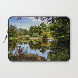 Lakeside reflections. Laptop Sleeve