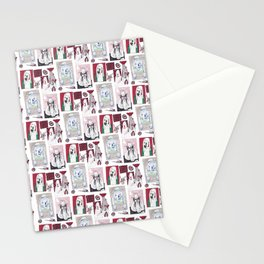 Red, White and Bait Stationery Cards