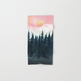 Forest Under the Sunset Hand & Bath Towel